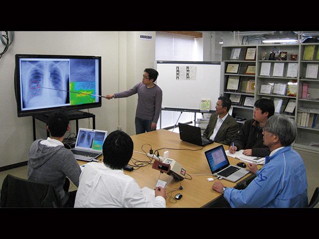 医療画像診断ソフトの開発